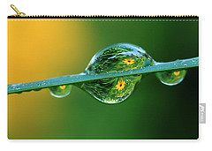 Raindrop Flowers Carry-all Pouch