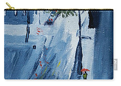 Raining Again Carry-all Pouch by Pamela  Meredith