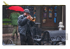 Rainy Day Blues New Orleans Carry-all Pouch
