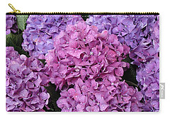 Carry-all Pouch featuring the photograph Rainy Day Flowers by Ira Shander
