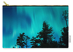 Rainy Lake Lights Carry-all Pouch