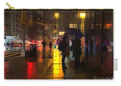 Rainy Night New York Carry-all Pouch