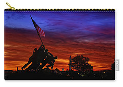 Raising The Flag Carry-all Pouch