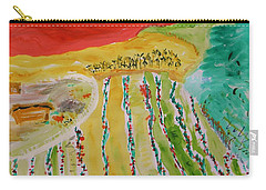 Raising Tomatoes On North Point Carry-all Pouch by Mary Carol Williams