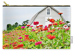 Raising Zinnia Flowers - Delaware Carry-all Pouch