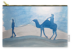 Rajasthani Blues Carry-all Pouch