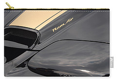 Carry-all Pouch featuring the photograph Ram Air by John Schneider
