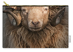 Ram Portrait Carry-all Pouch