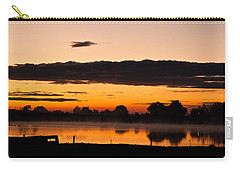 Rancher's Sunrise Carry-all Pouch by Steven Reed