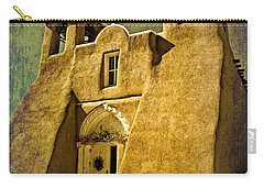 Ranchos Church In Old Gold Carry-all Pouch