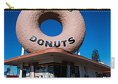 Randy's Donuts Carry-all Pouch by Stephen Stookey