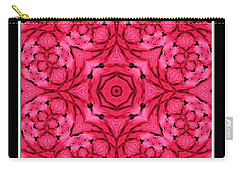 Ranunculus Flower Warp Carry-all Pouch by Rose Santuci-Sofranko
