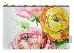 Ranunculus Flowers Carry-all Pouch