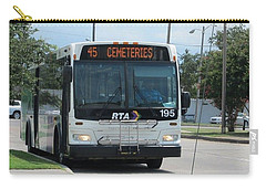 Cemeteries - Rapid Transit Authority - New Orleans La Carry-all Pouch