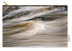 Carry-all Pouch featuring the photograph Rapids by Marty Saccone