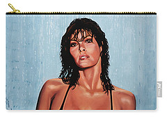 Raquel Welch Carry-all Pouch by Paul Meijering