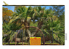 Rare Palm Tree Carry-all Pouch by Debra Forand