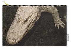 Rare White Alligator Carry-all Pouch