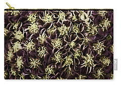 Carry-all Pouch featuring the photograph Raspberry Circles by Jean OKeeffe Macro Abundance Art