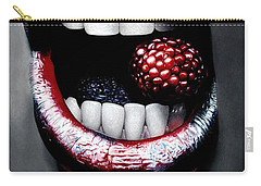 Raspberry Carry-all Pouches