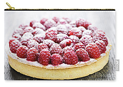 Raspberry Tart Carry-all Pouch by Elena Elisseeva