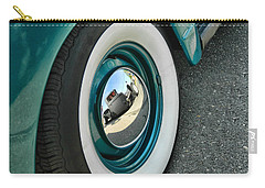 Carry-all Pouch featuring the photograph Rat Rod Reflection by Victor Montgomery