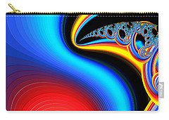 Raven Dreaming By The Fire Carry-all Pouch by Wendy J St Christopher