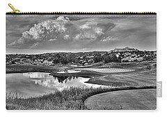 Ravenna IIi Black And White Carry-all Pouch
