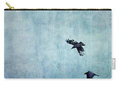 Ravens Flight Carry-all Pouch by Priska Wettstein