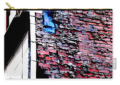 Carry-all Pouch featuring the photograph Raw Brick Bones by Christiane Hellner-OBrien