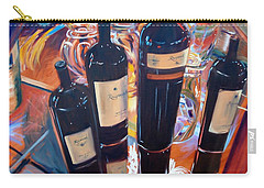 Raymond Vineyards Crystal Cellar Carry-all Pouch by Donna Tuten