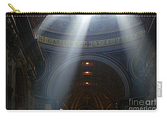 Rays Of Hope St. Peter's Basillica Italy  Carry-all Pouch by Bob Christopher