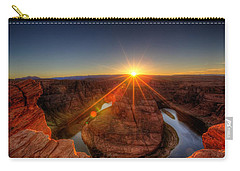Rays Of Sunshine Carry-all Pouch by Dave Files