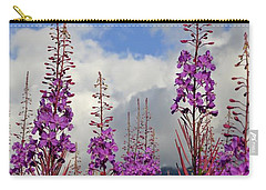 Carry-all Pouch featuring the photograph Reach For The Sky by Cathy Mahnke