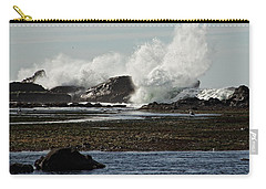 Carry-all Pouch featuring the photograph Reaching For The Sky by Dave Files