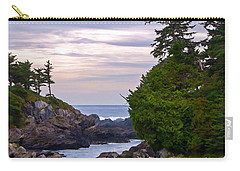 Reaching Out To The Ocean Carry-all Pouch by Jordan Blackstone