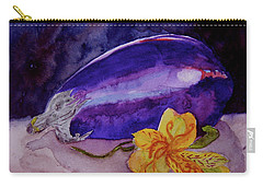 Carry-all Pouch featuring the painting Ready by Beverley Harper Tinsley