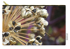 Carry-all Pouch featuring the photograph Ready To Disperse by Cheryl Hoyle