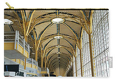 Carry-all Pouch featuring the photograph Reagan National Airport by Suzanne Stout