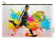 Real Madrid - Portuguese Forward Cristiano Ronaldo Carry-all Pouch