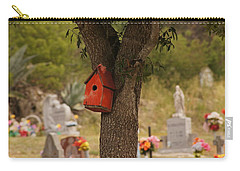 Red Abode Carry-all Pouch
