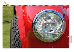 Carry-all Pouch featuring the photograph Red Ac Cobra by Dean Ferreira