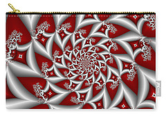 Red An Gray Carry-all Pouch