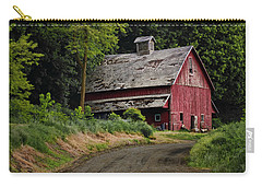 Red Barn - County Road  Carry-all Pouch