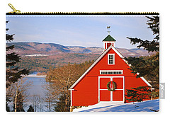 Red Barn On Newfound Lake Carry-all Pouch