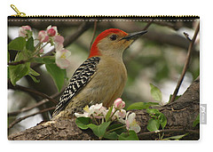 Carry-all Pouch featuring the photograph Red-bellied Woodpecker by James Peterson
