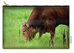 Red Brangus Bull Carry-all Pouch
