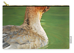 Red Breasted Merganser Carry-all Pouch