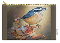 Red-breasted Nuthatch Bird Carry-all Pouch