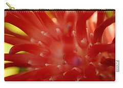 Carry-all Pouch featuring the photograph Red Bromeliad by Greg Allore